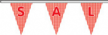 Sale Now On Letters On Pattern Superior Bunting 10m (32') Long With 24 Flags